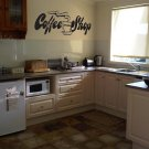 NEW Coffee Shop Kitchen Vinyl Wall Sticker Decal