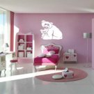 Cute Teddy Bear & Cub Vinyl Wall Sticker Decal Nursery