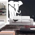 Huge 6 Ft Elephant Vinyl Wall Sticker Decal