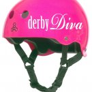 Roller Derby Helmet Vinyl Sticker Decal (Derby Diva, Derby Virgin or Jammer)