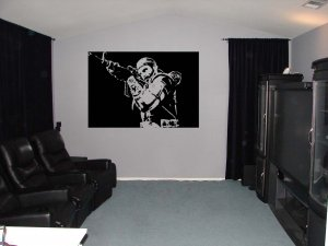 Large Call of Duty Black Ops PS3 Vinyl Wall Sticker
