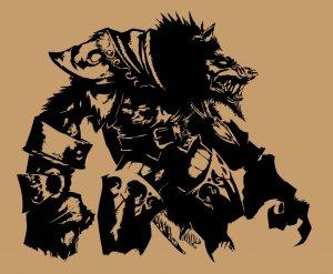 Large World of Warcraft WORGEN Cataclysm Wow Vinyl Wall Sticker