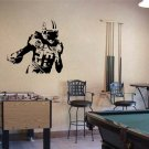Large Chris Johnson Titans Football Vinyl Wall Sticker Decal