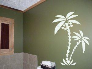 6 Foot Palm Tree Room Design Vinyl Wall Sticker Decal