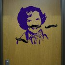 Pin the Stache on Betty White Vinyl Wall Sticker Game