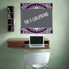 Floral Accent Chalkboard Memo Vinyl Wall Sticker Decal...Great for any Home, Dorm Room or Office