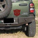 Transformers Autobot Decepticon Logos Vinyl Wall Sticker Decals