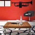 Cool Jazz Trumpet Vinyl Wall Sticker Decal