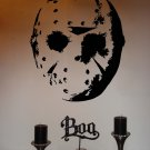Jason Hockey Mask Halloween Vinyl Wall Sticker Decal