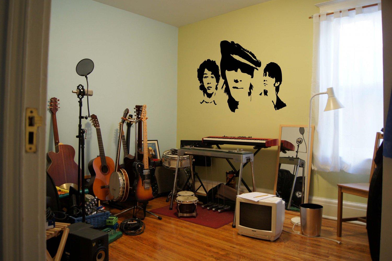 Jonas Brothers Vinyl Wall Sticker Decal