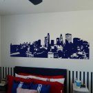 "LONDON ENGLAND Skyline Artwork Vinyl Wall Sticker Decal 19""h x 60""w"
