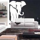 6 Ft Elephant Vinyl Wall Sticker Decal