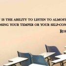 "Robert Frost Classroom School Quote Vinyl Wall Sticker Decal 7""h x 48""w"