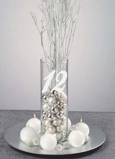 Wedding Table Numbers 1-35 Frosted Etched Glass Vinyl Sticker Decals