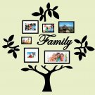 Family Tree Vinyl Wall Sticker Decal (D)