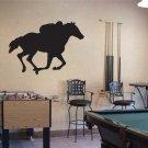 Horse Racing Vinyl Wall Sticker Decal