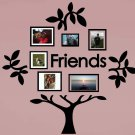 Friends Family Tree Vinyl Wall Sticker Decal (C)