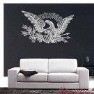 Patriotic American Eagle Vinyl Wall Sticker Decal