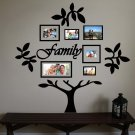Family Tree Vinyl Wall Sticker Decal (A)