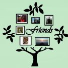 Friends Family Tree Vinyl Wall Sticker Decal (A)