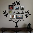 Friends Family Tree Vinyl Wall Sticker Decal (B)