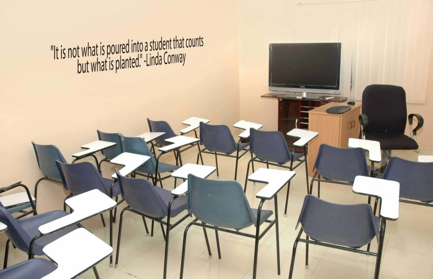 Inspirational Teacher Classroom School Wall Quote Sticker Decal