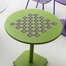 "Make Your Own Beach Shell Chess & Checker Game Board Vinyl Sticker Decal 16""h"