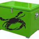"""Two Blue Claw Crabs Vinyl Sticker Decals 8""""x10"""" each"""