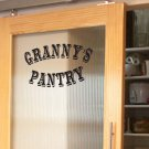"""Granny's Pantry Kitchen Vinyl Wall Quote Sticker Decal 6""""h x 10""""w"""