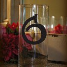"Wedding Table Numbers 1-25 Centerpiece Vinyl Sticker Decals (3""h Numbers) (a)"