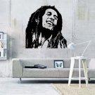 """Bob Marley Reggae Music Vinyl Wall Sticker Decal 60""""h x 60""""w"""