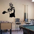 """Aaron Rodgers Green Bay Packers Football Vinyl Wall Sticker Decal 44""""h x 41""""w"""