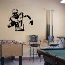 "Rob Gronkowski Patriots Football Vinyl Wall Sticker Decal 44"" w x 35"" h"