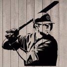 "Kris Bryant Cubs Chicago Baseball Player Vinyl Wall Sticker Decal 44""h x 38""w"