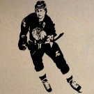 "Bob Probert Chicago Blackhawks Hockey Vinyl Wall Sticker Decal 36""w x 44""h"
