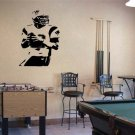 "Tom Brady Patriots Football Vinyl Wall Sticker Decal 34""h x 22""w"