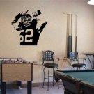 Clay Matthews Flexing Green Bay Packers Football Vinyl Wall Sticker Decal