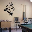 Peyton Manning Colts Football Vinyl Wall Sticker Decal