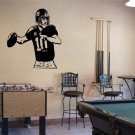 ELI MANNING New York Giants Football Vinyl Wall Sticker Decal