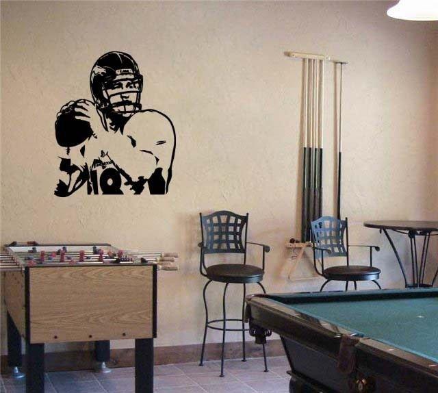 Peyton Manning Broncos Denver Football Vinyl Wall Sticker Decal