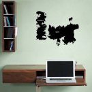 Game of Thrones World Map Westeros Essos Vinyl Wall Sticker Decal Small