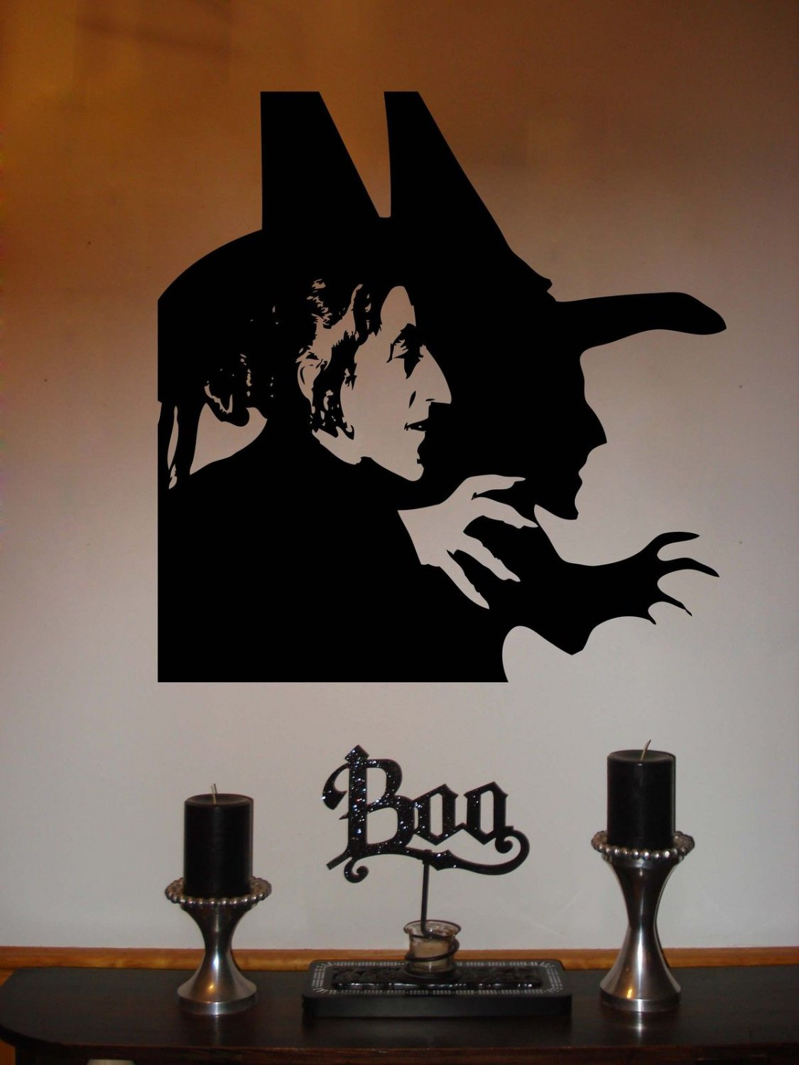 """Wizard of Oz Wicked Witch of the West Vinyl Wall Sticker Decal 5.75""""h x 6""""w"""