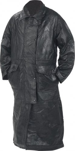 L Genuine Leather Cowboy Duster