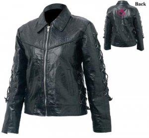M Ladies' Buffalo Leather Jacket