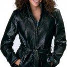 XL Ladies' Leather Coat