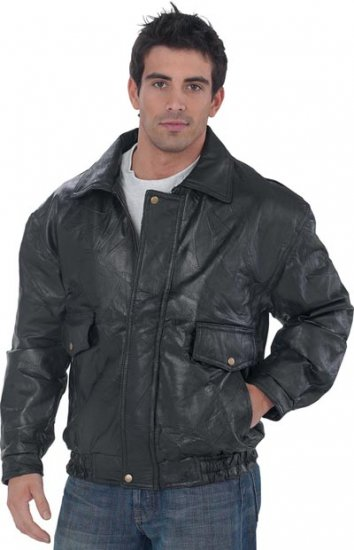 XL Men's Leather Coat