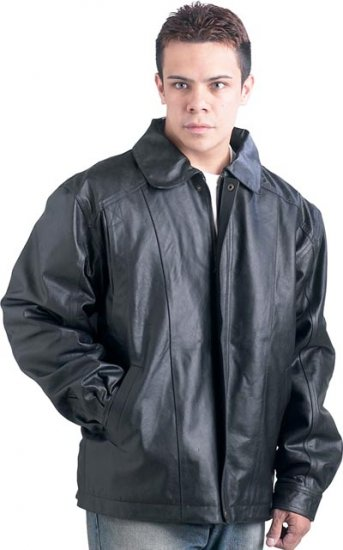 XL Cowhide Leather Jacket