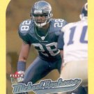 2005 Fleer Ultra Gold Medallion Michael Boulware Seahawks