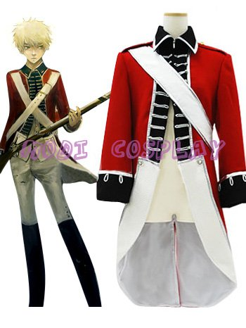 Axis Power Hetalia Anime Cosplay Costume,all size