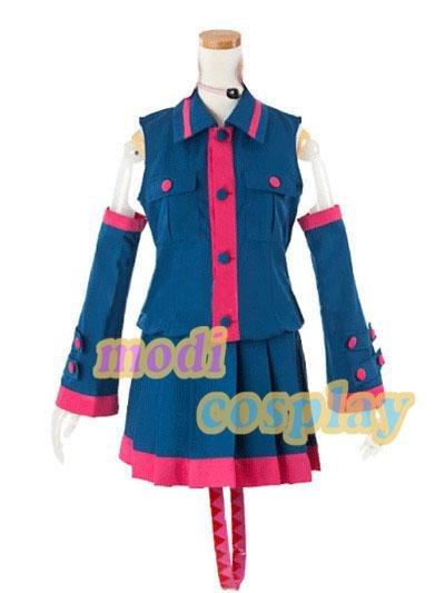 VOCALOID2 Kasane Teto Uniform Cosplay Costume,New
